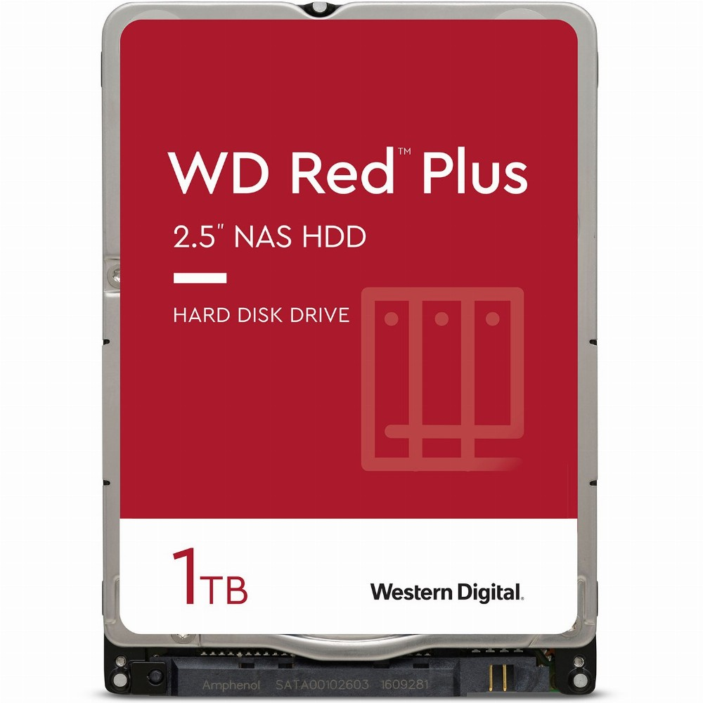 Western Digital Red, 2.5 Zoll, 1000 GB, 5400 RPM