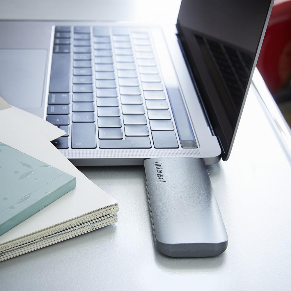 Intenso 500GB Business Portable, 250 GB, USB Typ-C, 3.2 Gen 1 (3.1 Gen 1), 320 MB/s, Anthrazit