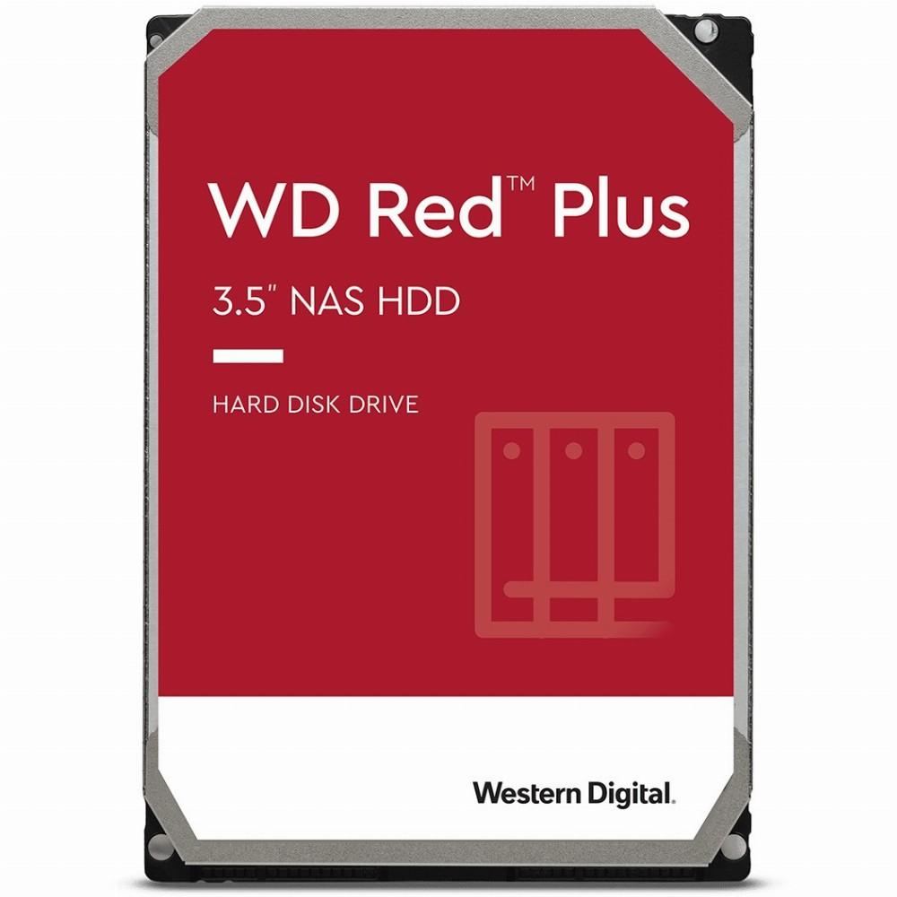 Western Digital WD Red Plus, 3.5 Zoll, 10000 GB, 7200 RPM