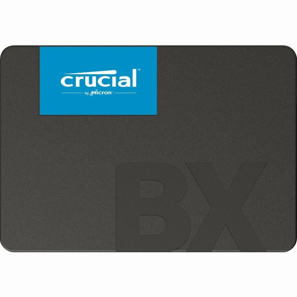 "Crucial BX500, 120 GB, 2.5"", 540 MB/s, 6 Gbit/s"