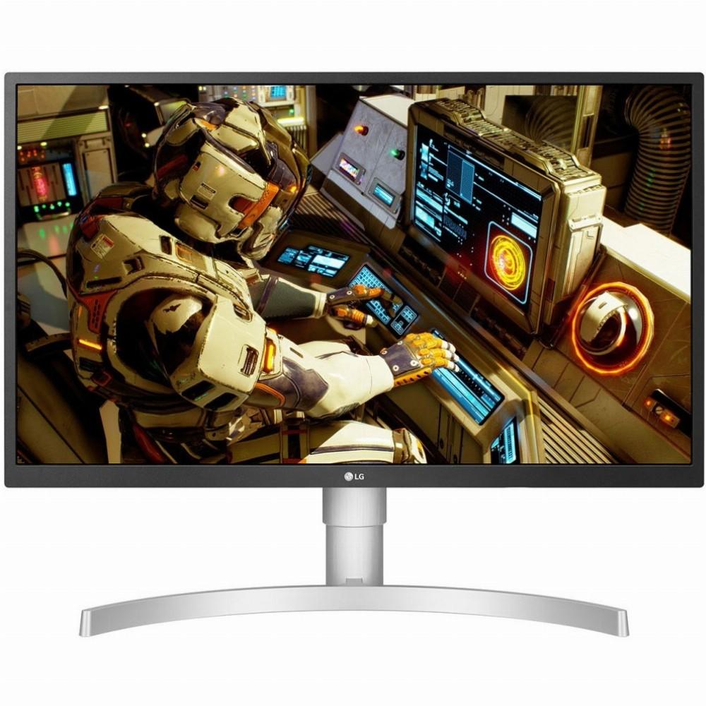 LG 27UL550, 68,6 cm (27 Zoll), 3840 x 2160 Pixel, 4K Ultra HD, LED, 5 ms, Silber