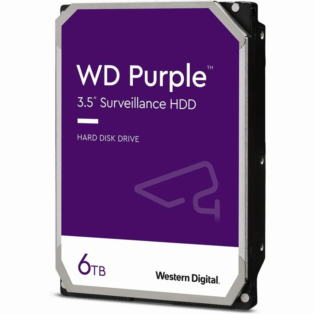 Western Digital Purple Surveillance, 3.5 Zoll, 6000 GB, 5700 RPM