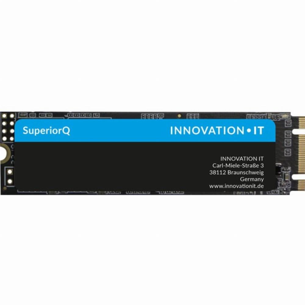 Innovation IT SSD M.2 512GB InnovationIT Black2 BULK (QLC), 512 GB, M.2, 550 MB/s