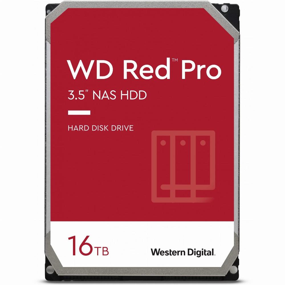 Western Digital Red Pro, 3.5 Zoll, 16000 GB, 7200 RPM
