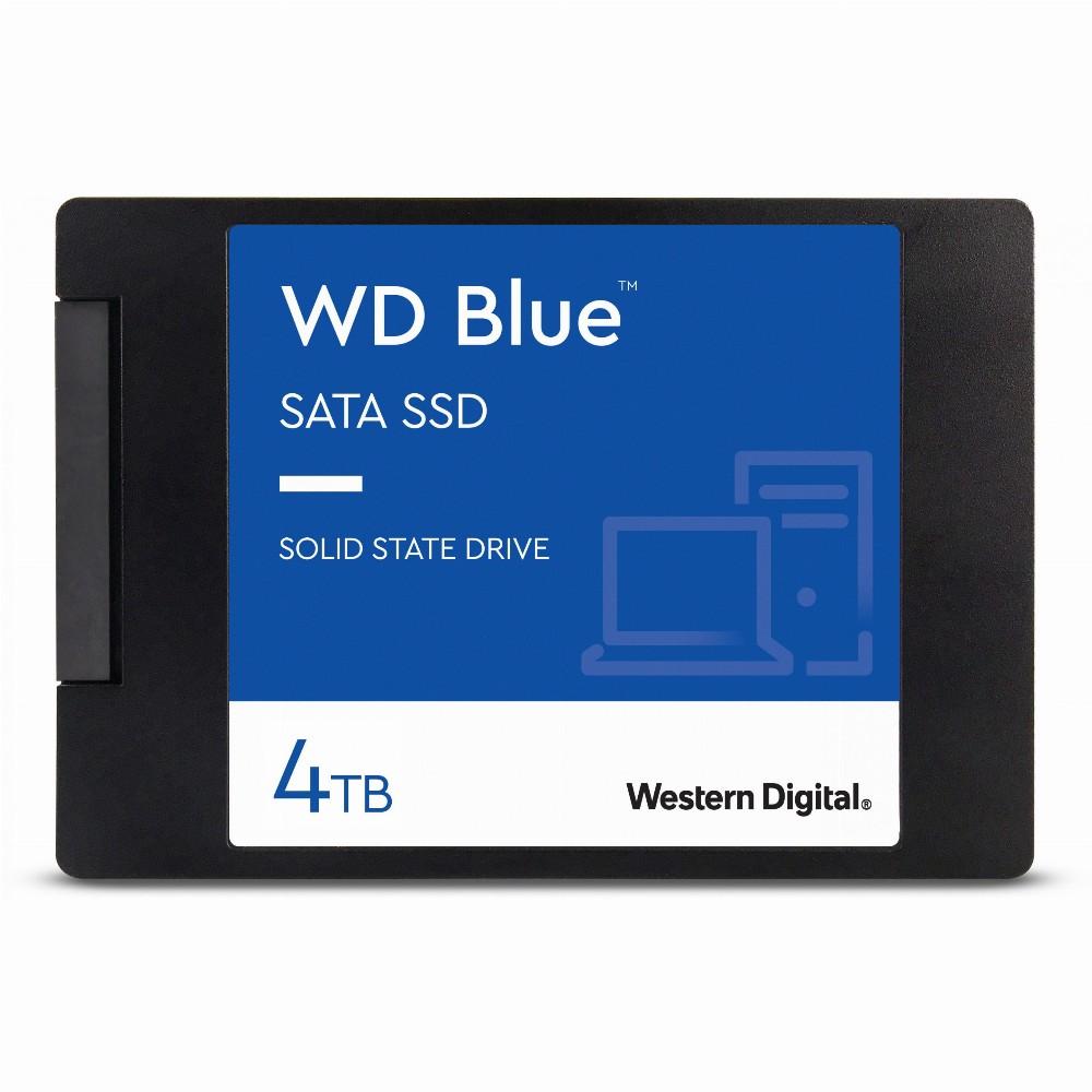 """Western Digital Blue 3D, 4000 GB, 2.5"""", 560 MB/s, 6 Gbit/s"""