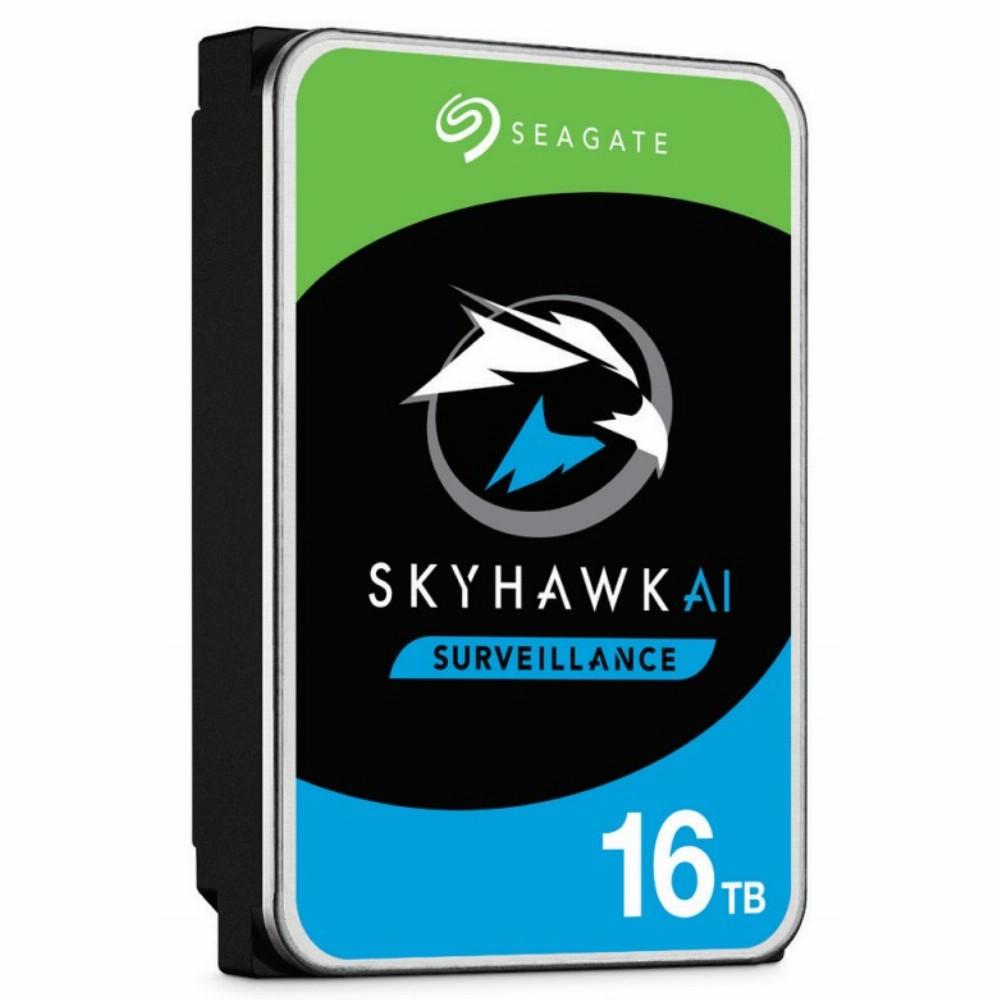Seagate Surveillance HDD SkyHawk AI, 3.5 Zoll, 16000 GB, 7200 RPM