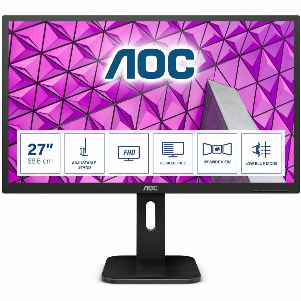 AOC P1 27P1, 68,6 cm (27 Zoll), 1920 x 1080 Pixel, Full HD, LED, 5 ms, Schwarz