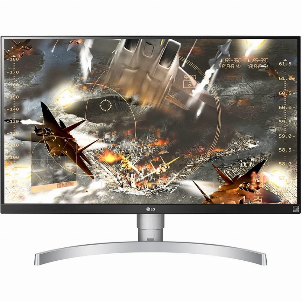 LG 27UL650-W, 68,6 cm (27 Zoll), 3840 x 2160 Pixel, 4K Ultra HD, LED, 5 ms, Silber