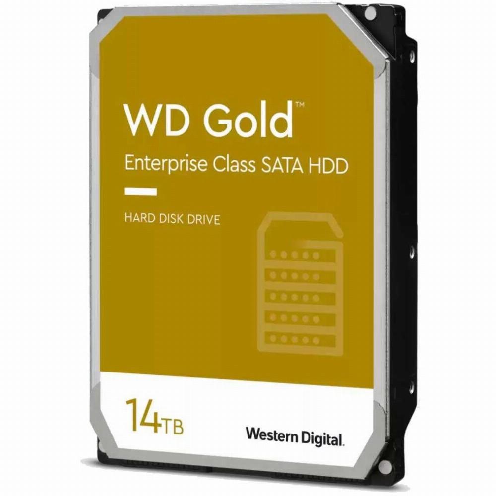 Western Digital Gold, 3.5 Zoll, 14000 GB, 7200 RPM