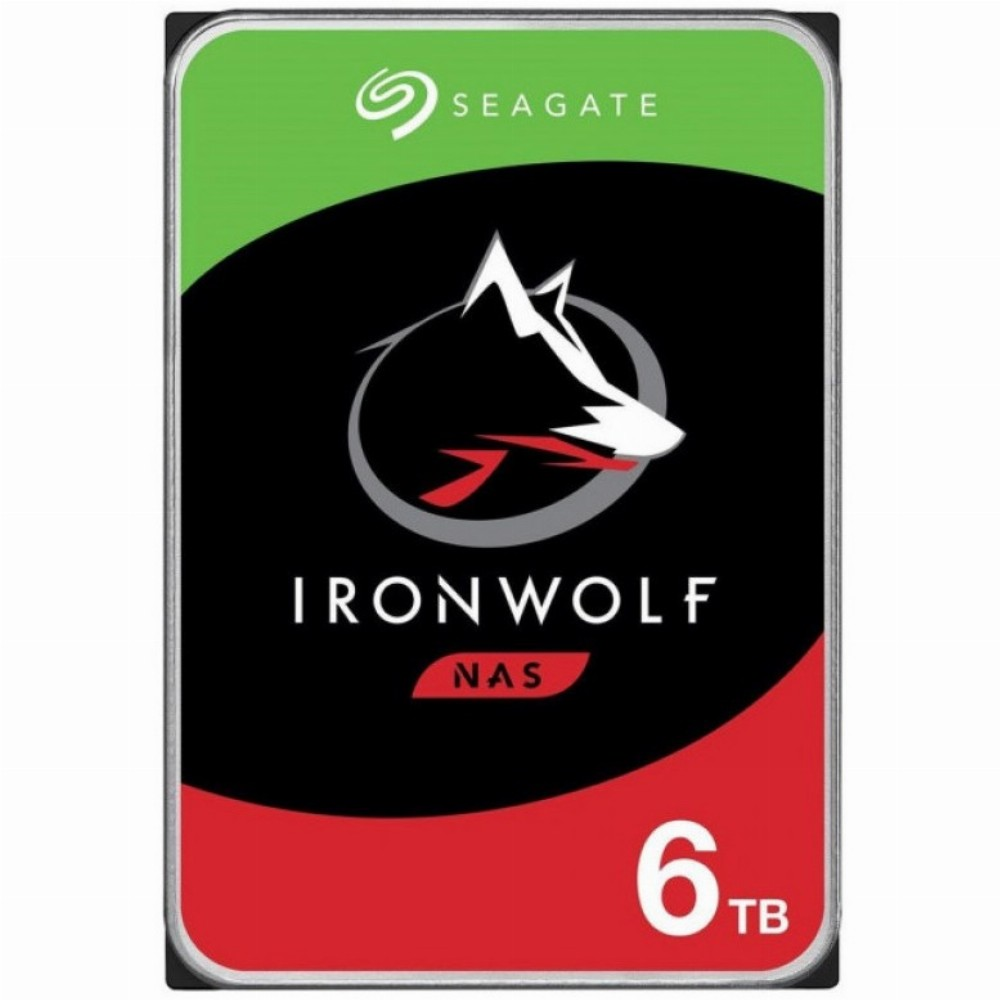 Seagate IronWolf ST6000VN001, 3.5 Zoll, 6000 GB, 5400 RPM