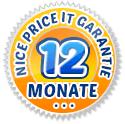 12 Monate Garantie