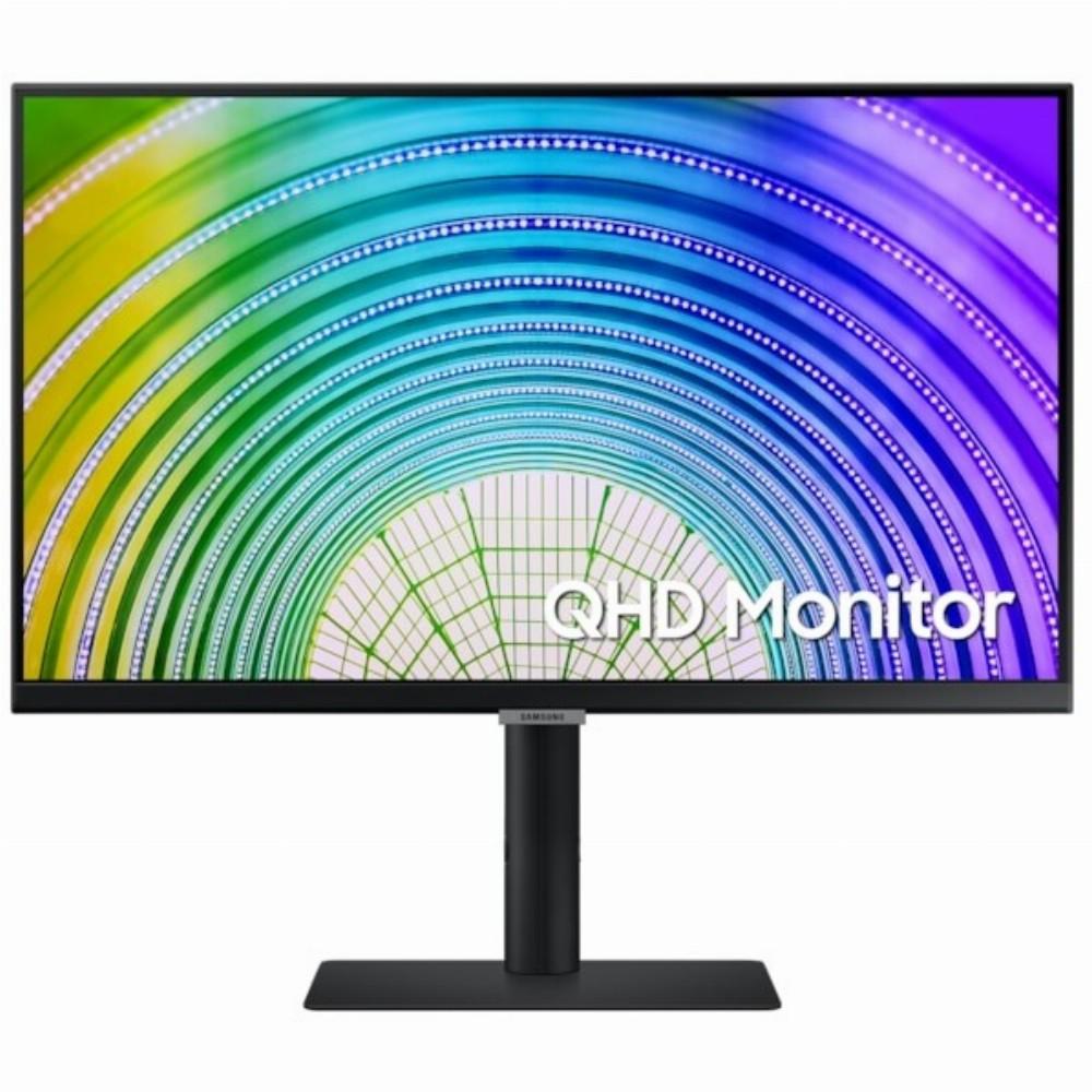 Samsung S24A600UCU, 61 cm (24 Zoll), 2560 x 1440 Pixel, Wide Quad HD, LCD, 5 ms, Schwarz