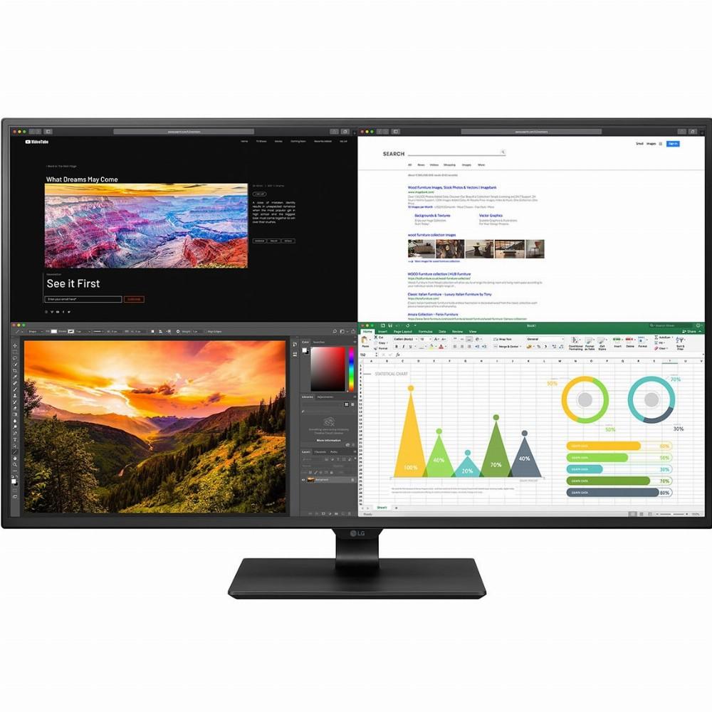 LG 43UN700-B, 108 cm (42.5 Zoll), 3840 x 2160 Pixel, LED, 8 ms, Schwarz