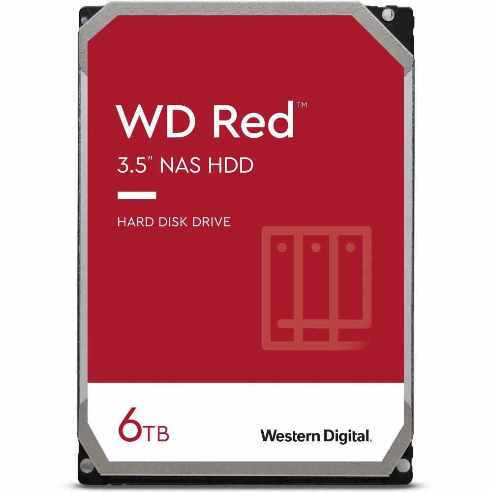 Western Digital Red, 3.5 Zoll, 6000 GB, 5400 RPM
