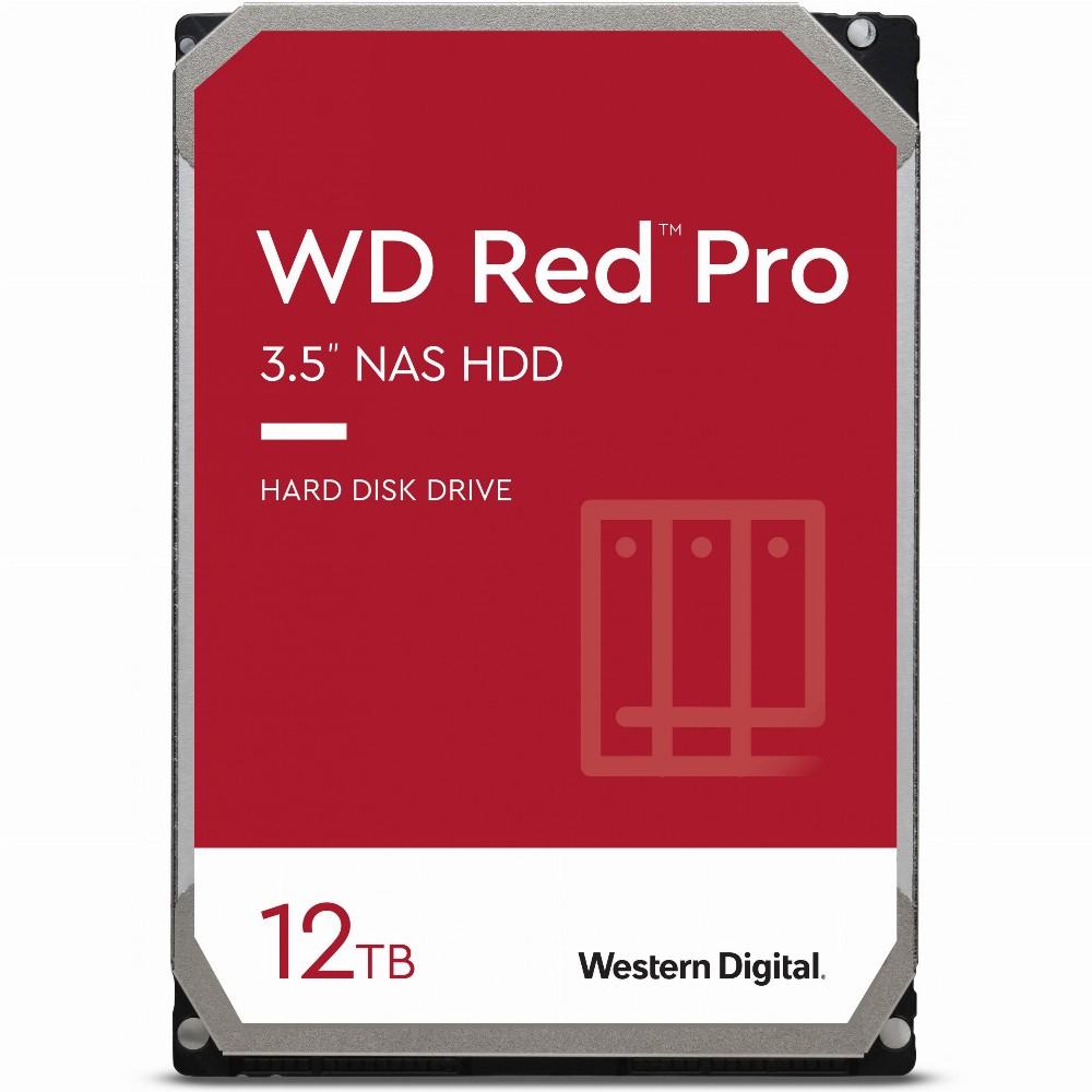 Western Digital WD Red Pro, 3.5 Zoll, 12000 GB, 7200 RPM