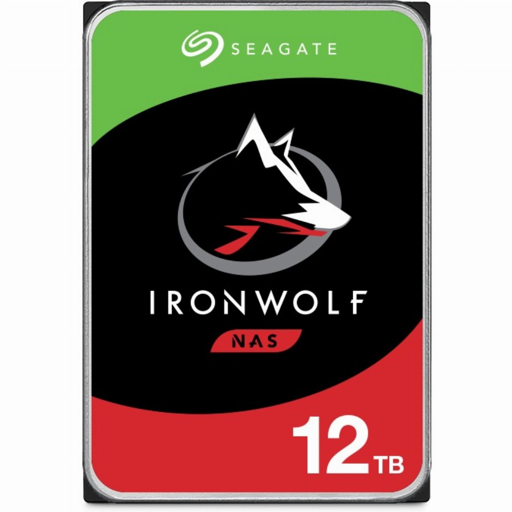 Seagate NAS HDD IronWolf, 3.5 Zoll, 12000 GB, 7200 RPM
